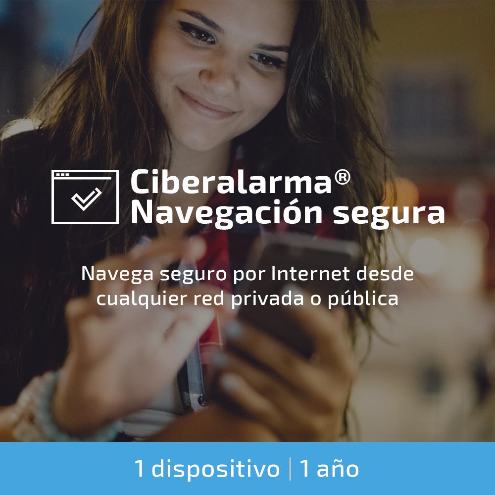 Ciberalarma® Navegación Segura
